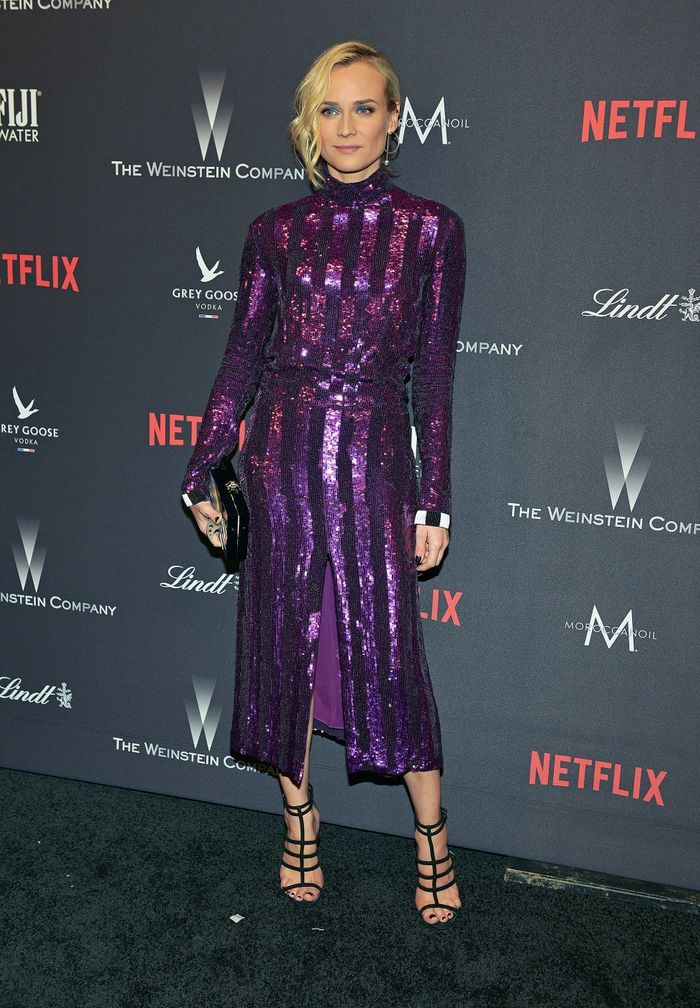 La touche pailletée de Diane Kruger
