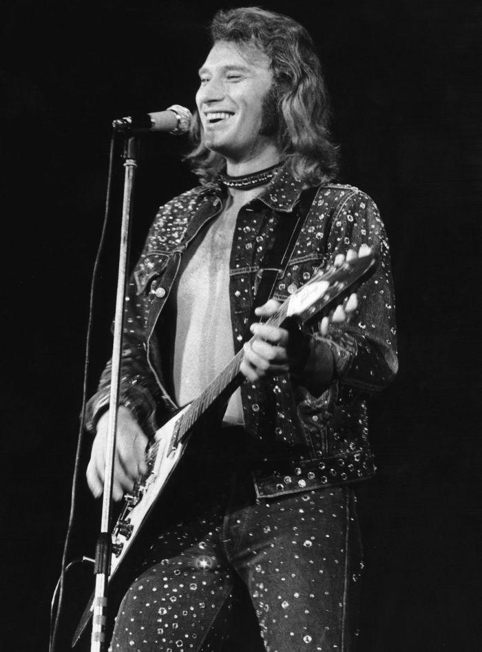 Johnny Hallyday en 1971