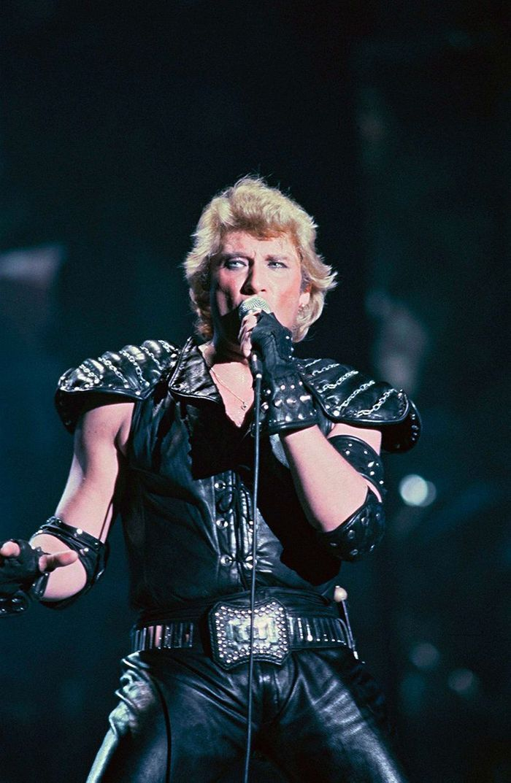 Johnny Hallyday en 1982