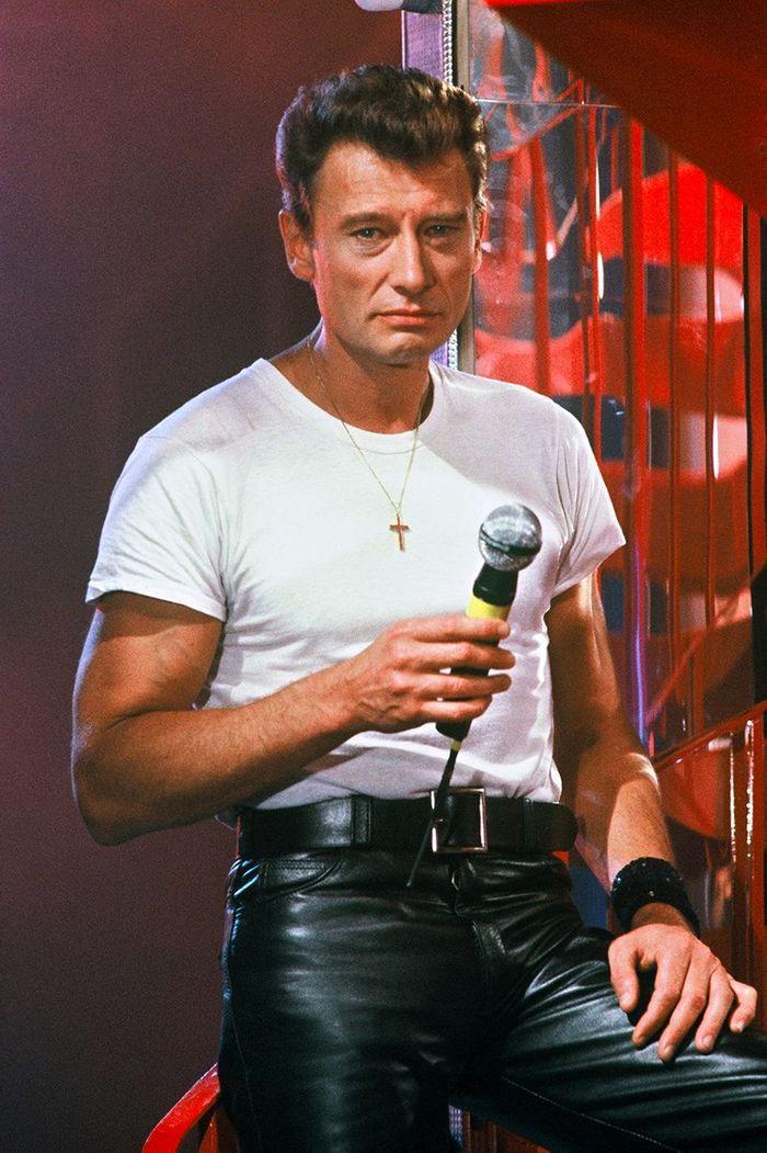 Johnny Hallyday en 1985