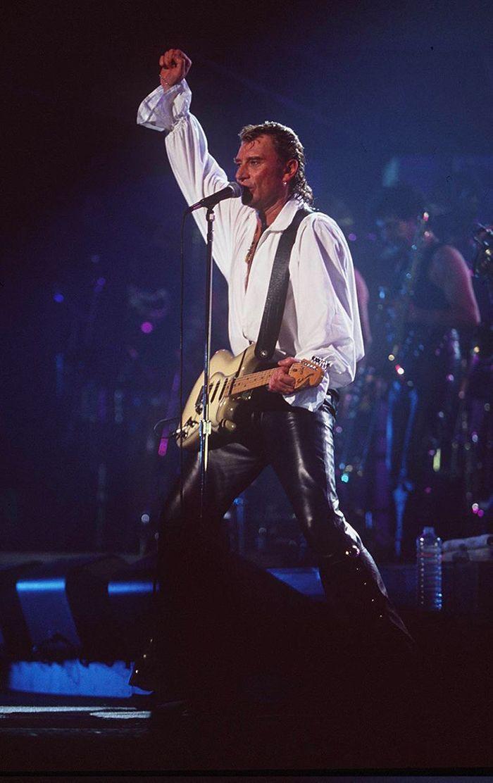 Johnny Hallyday en 1992