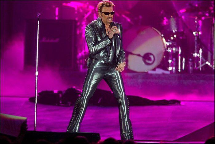 Johnny Hallyday en 2003