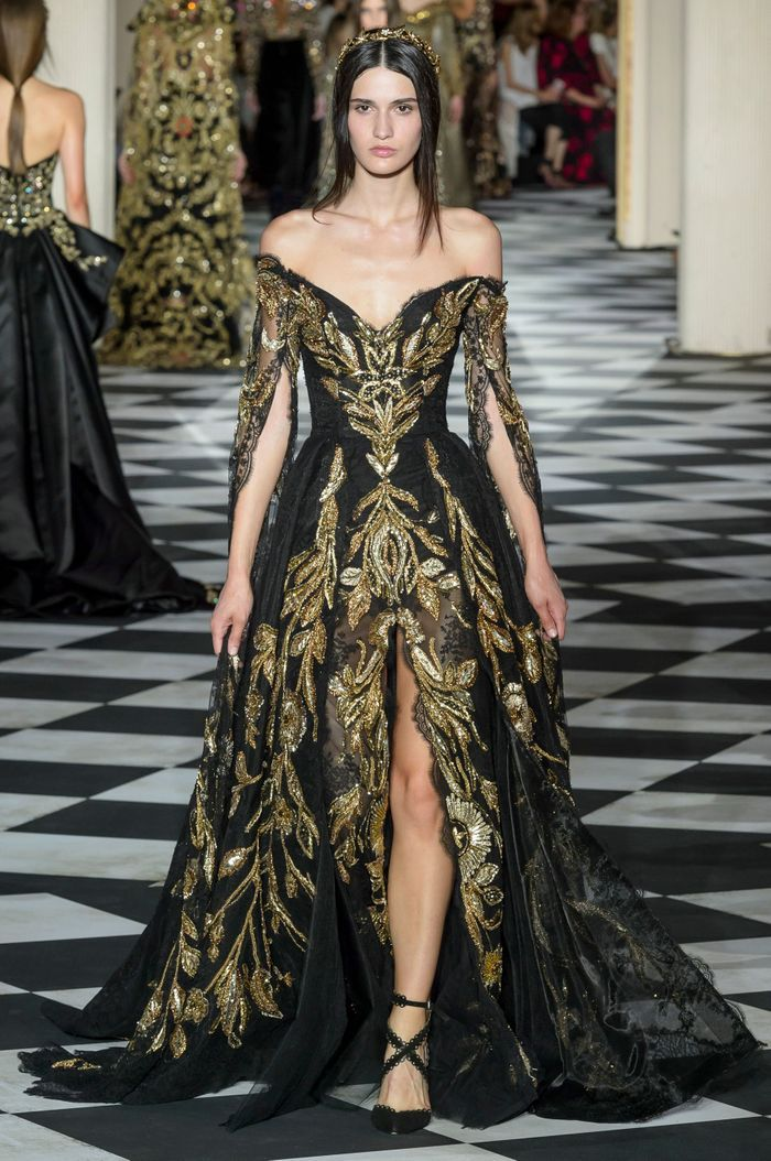 d fil zuhair murad haute couture automne hiver 2018 2019. Black Bedroom Furniture Sets. Home Design Ideas