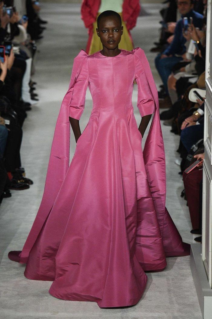 Défilé Valentino Haute Couture printemps,été 2019 , Paris , Elle