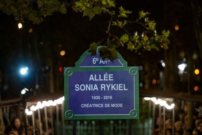 Défilé Sonia Rykiel