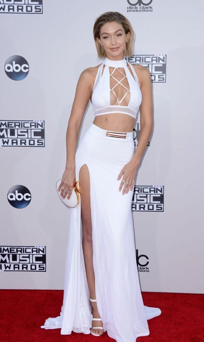 La robe fendue de Gigi Hadid