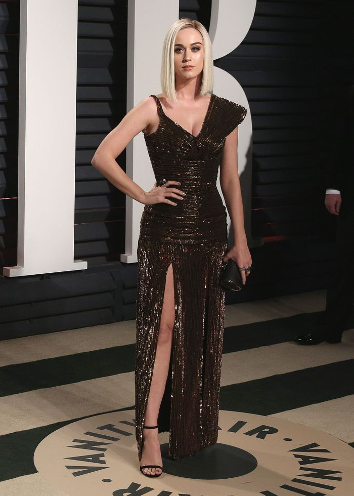 La robe fendue de Katy Perry