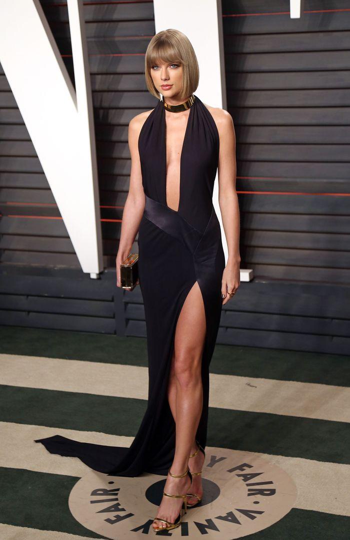 La robe fendue de Taylor Swift