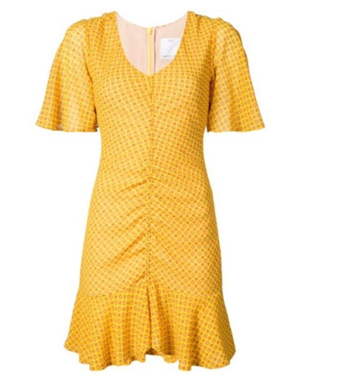 Robe jaune C/meo