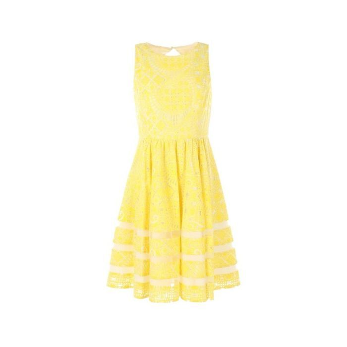Robe jaune Derhy