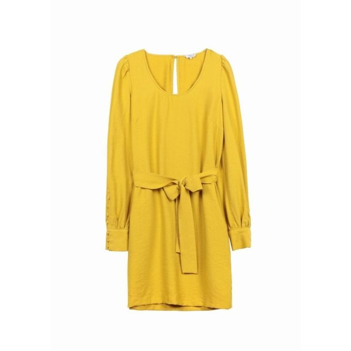 Robe jaune Frnch