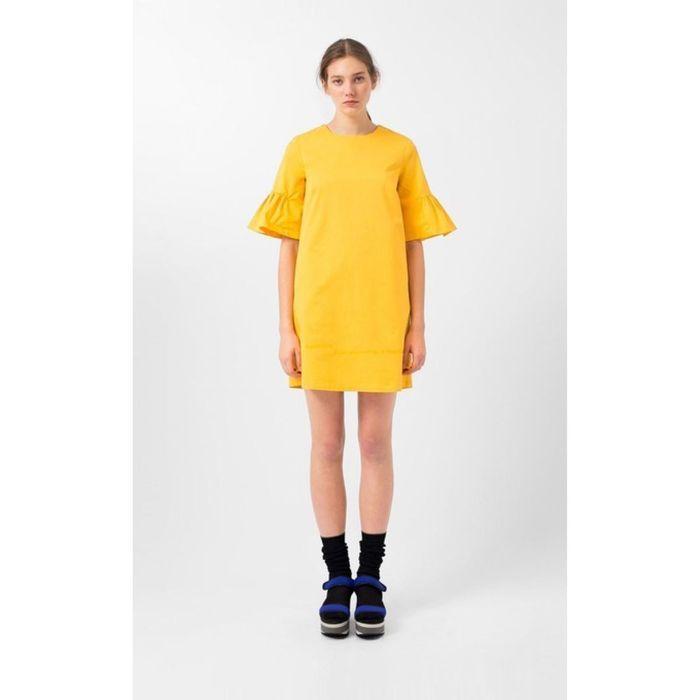 Robe jaune Loreak