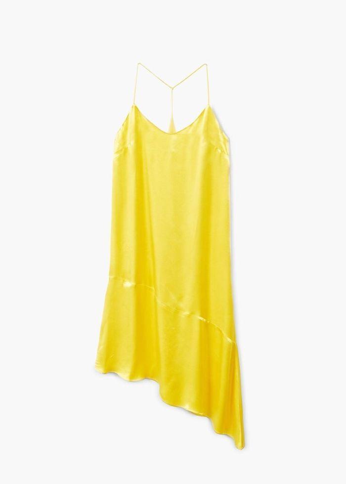 Robe jaune Mango