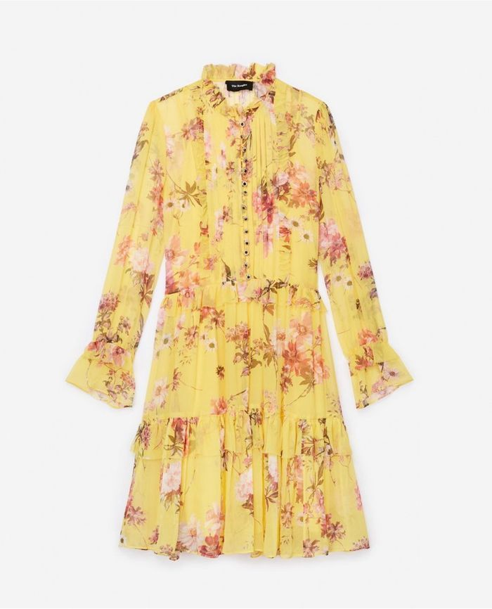 Robe jaune The Kooples