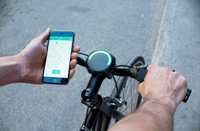 Guidon connecté pour vélo