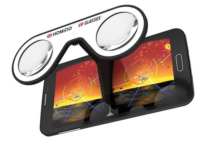 Mini lunettes de réalités virtuelle