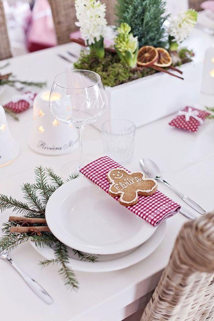 Une table de fête authentique