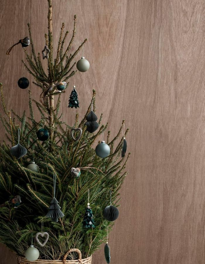 Arbre de Noël contemporain
