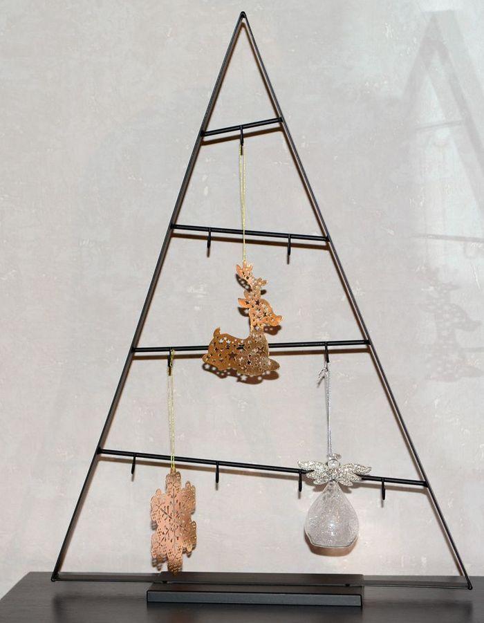 Faux sapin de Noël en métal