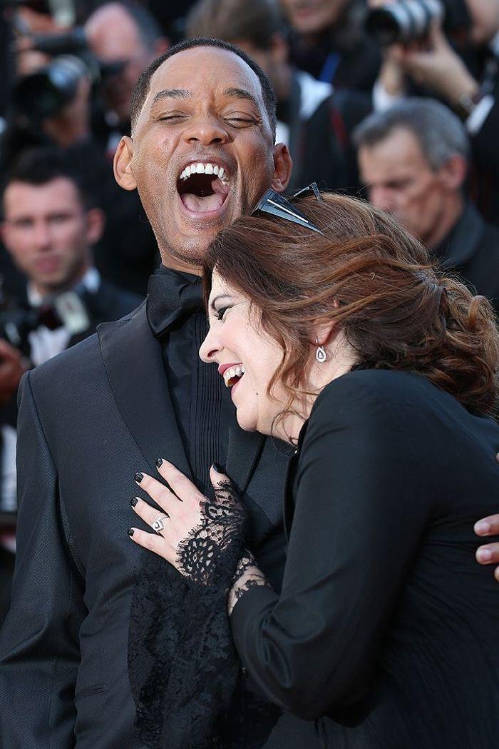 Will Smith et Agnès Jaoui