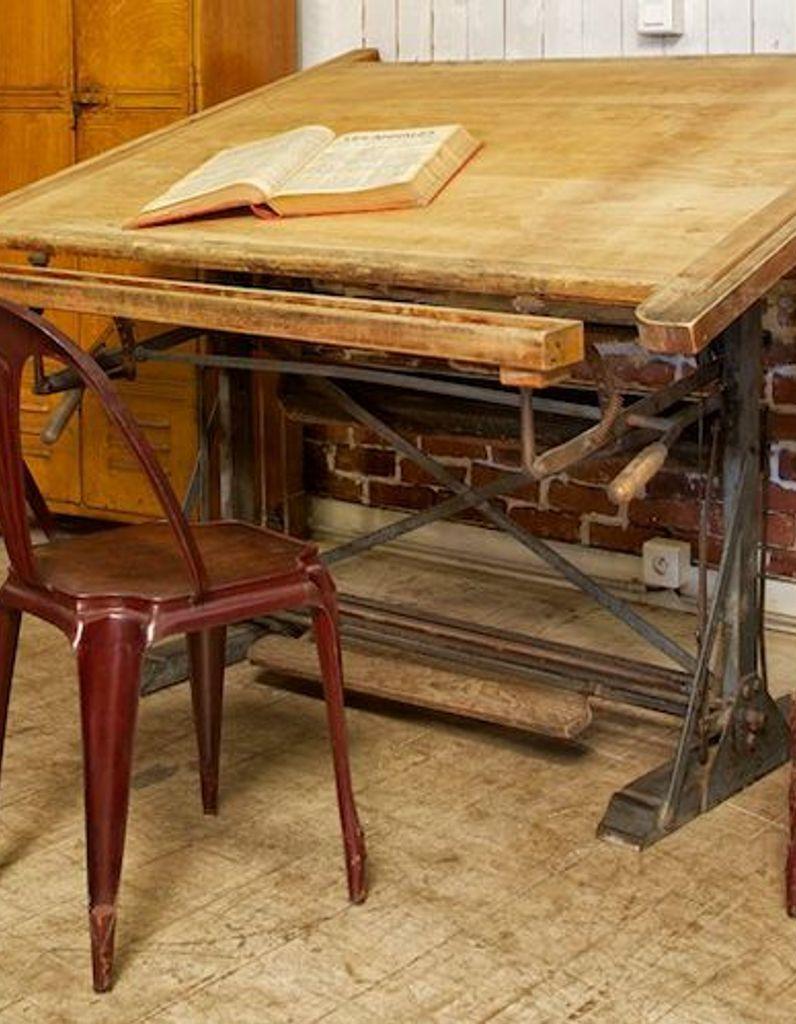 La Table D Architecte Elle Decoration