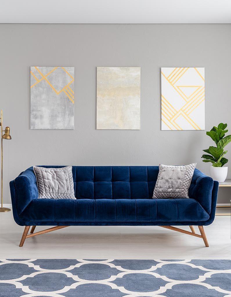 Couleur Mur Salon 2019 peinture murale : les tendances 2019 – elle décoration