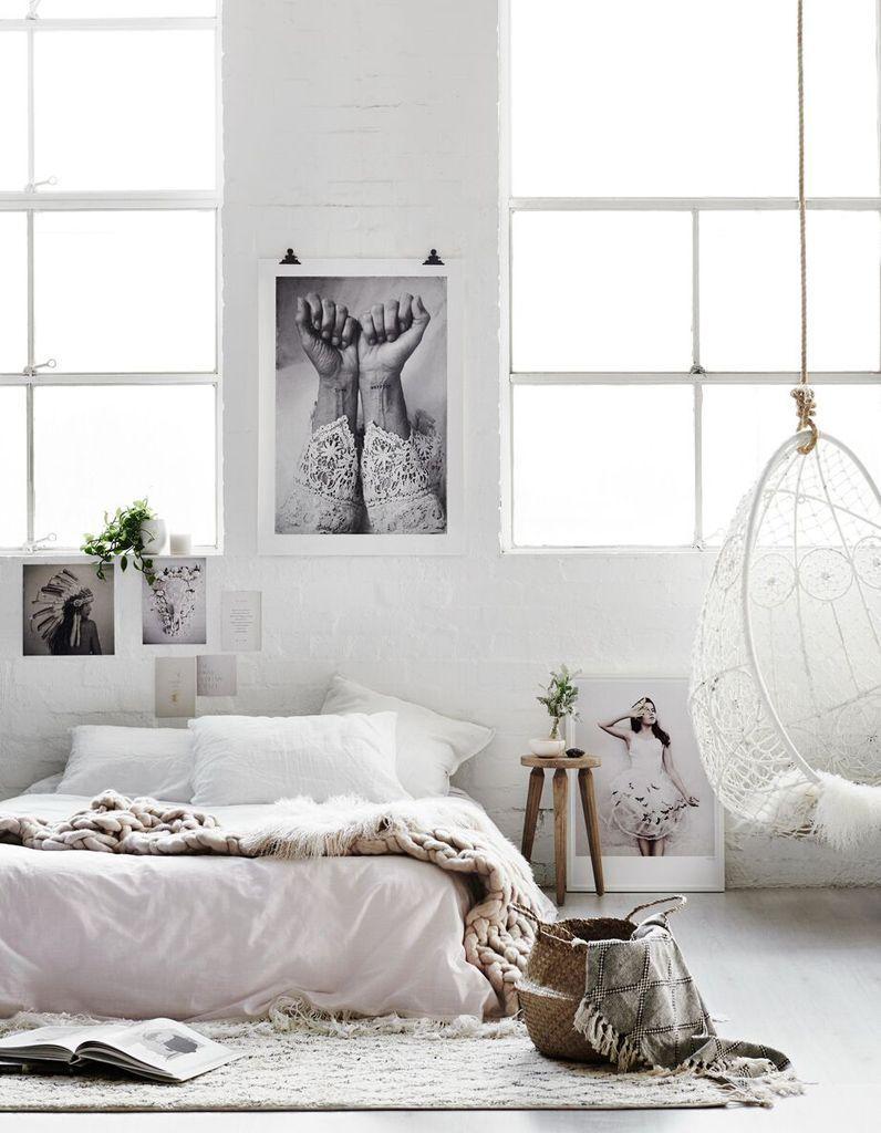 16 idées très féminines à piquer à cette chambre cosy - Elle Décoration