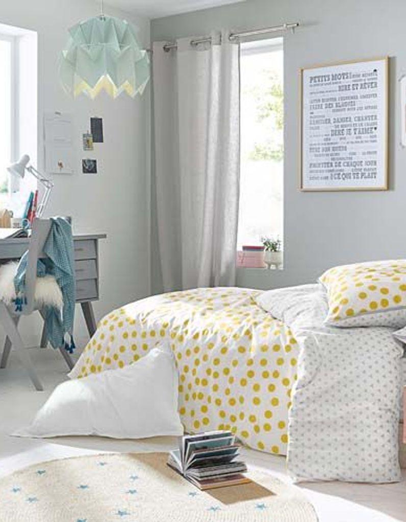 Deco Chambre Jaune Et Gris chambre ado : 5 conseils pour une chambre d'ado qui leur