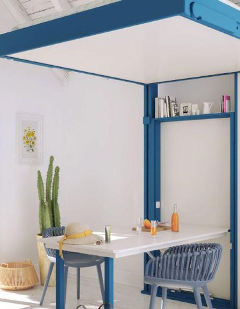 Table Rabattable Petit Espace une grande table dans un petit espace - elle décoration