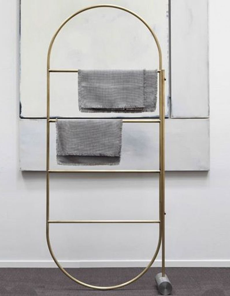 Deco Porte Salle De Bain l'inspiration du jour : un porte-serviettes design - elle