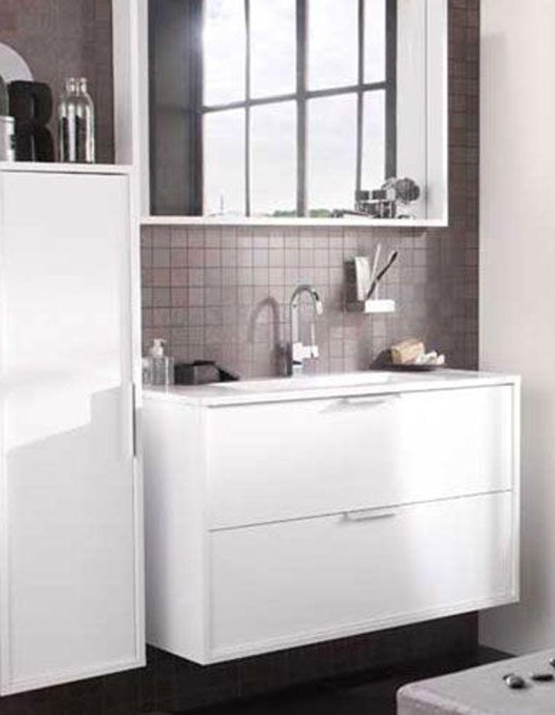 Lapeyre mise sur le gain de place dans la salle de bain - Elle