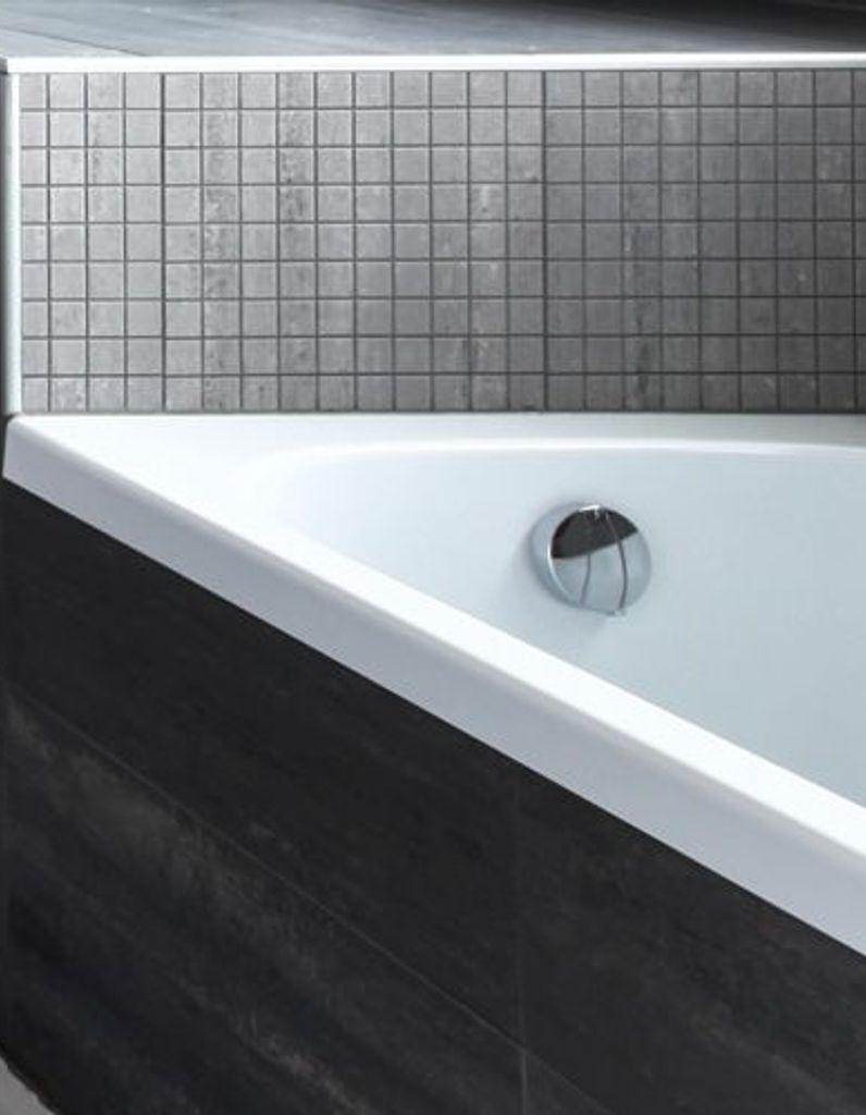 Carrelage Salle De Bain Noir Brillant peindre son carrelage de salle de bains en 3 étapes - elle