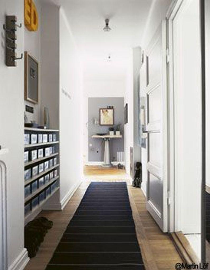 Idée Peinture Couloir Et Entrée dossier tendance l'art du couloir - elle décoration