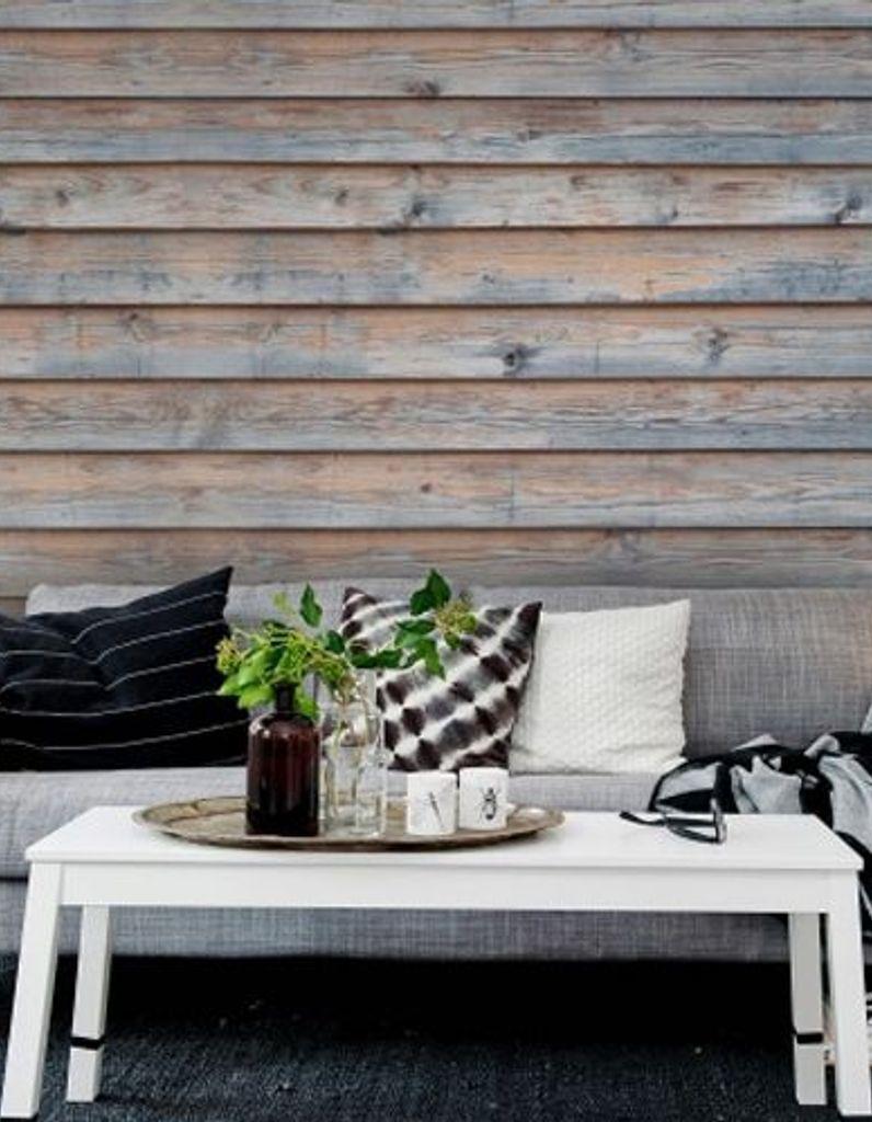 Recouvrir Carrelage En Relief leçon de déco : comment créer un effet bois au mur ? - elle