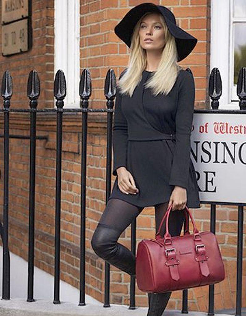 Kate Moss for Longchamp, et de quatre ! - Elle