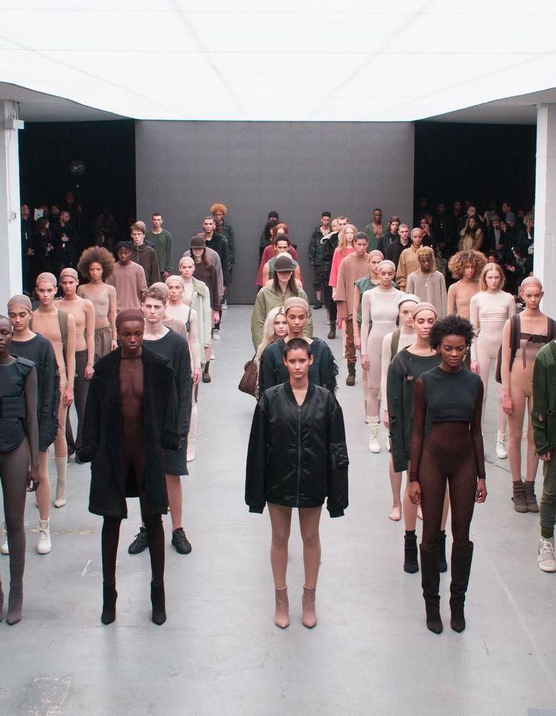 Kanye West, de retour pour la Fashion Week de New York - Elle
