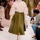 Vierge : la jupe plissée