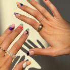 La manucure abstract nails pour la femme Taureau