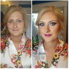 Avant / après le maquillage argenté