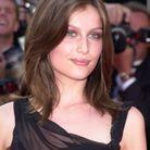 Le dégradé châtain de Laetitia Casta au Festival de Cannes de l'année 2002