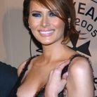 Melania Trump et son chignon en 2005