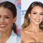 Les sourcils de Jessica Alba avant/après