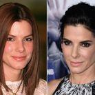 Les sourcils de Sandra Bullock avant/après