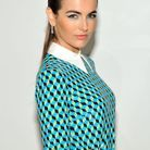 L'actrice Camilla Bell et son maquillage turquoise