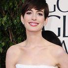 Les lèvres vieux rose d'Anne Hathaway