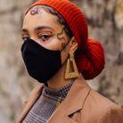 Chignon avec turban