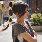 La bubble ponytail