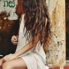 Le wavy sur cheveux longs en été