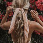 Coiffure avec un foulard facile