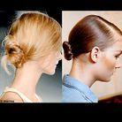 Beaute cheveux coiffure tendances printemps chignon black swan